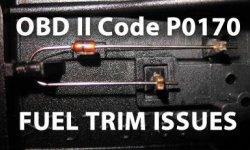 OBD II Code P0170 -...