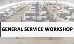 Toyota Gen-Service Workshop in UAE
