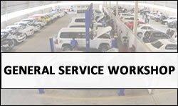 Land Rover Gen-Service Workshop in UAE