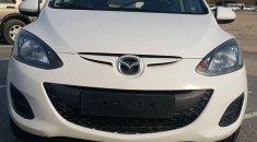 2013 Mazda 2 , Pearl  White , Gcc Specs , Basic