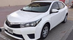 Toyota Corolla 2014 Gcc 1.6 Se Neat And Clean Car