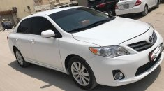Toyota Corolla 2012 , White  Car