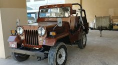 Jeep Willy CJ7 restored