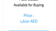 Choose a Special Date as Your Car Number Plate in Dubai