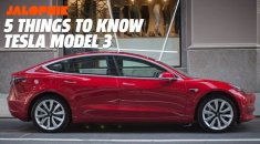 Tesla 3 ..- 5 techy things to know!