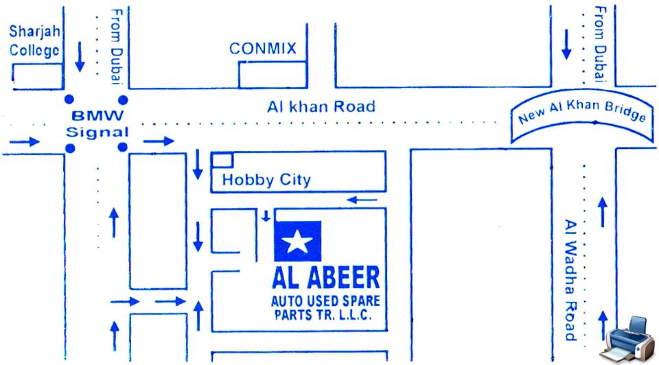 Sharjah Used Car Parts Market >> Al Abeer Auto Used Spare Parts - Used Parts / Scrapyard - Carnity.com