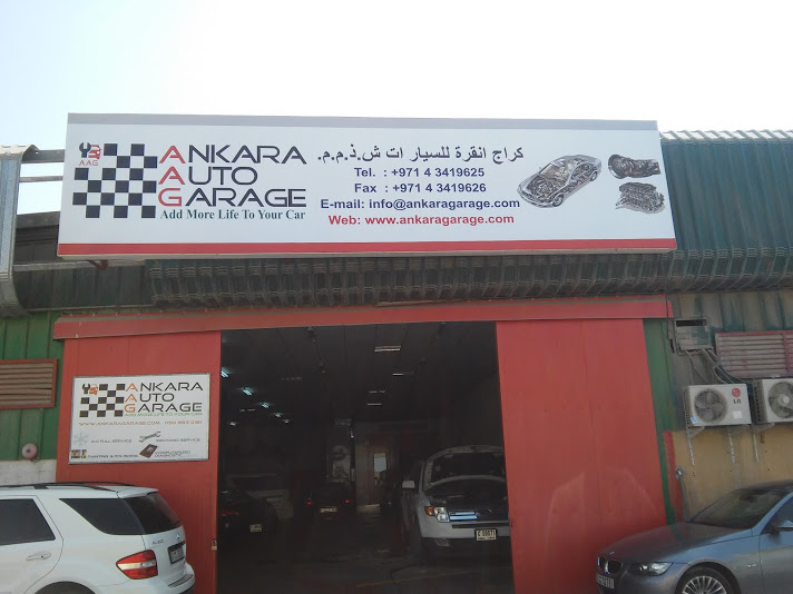 Nearest Auto Repair Shop >> Ankara Auto Garage L.L.C - General Service Workshop