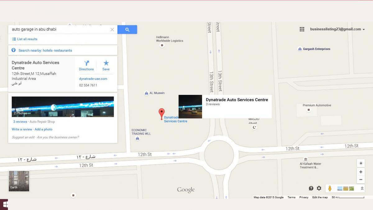 Dynatrade Auto Services Centre - Abu Dhabi - General Service