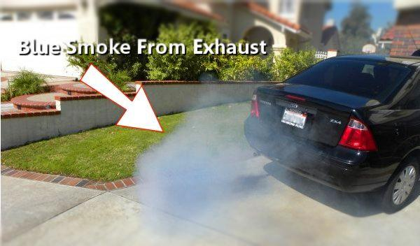 Exhaust Coming Out Of A Car ~ Blue smoke out of car exhaust maintenance carnity