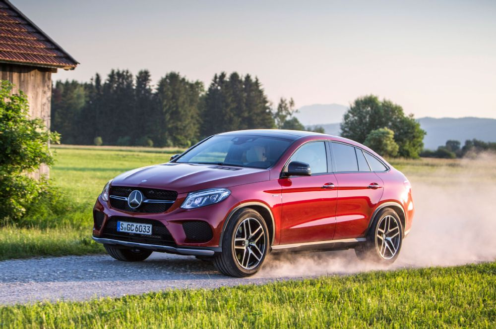 2016 mercedes benz gle450 amg coupe first picture. Black Bedroom Furniture Sets. Home Design Ideas