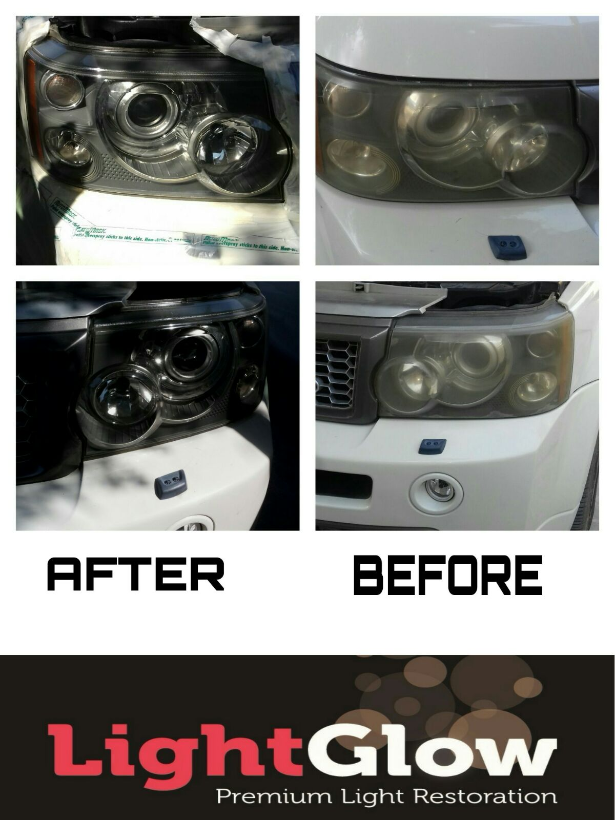 how to clean yellowing car headlights