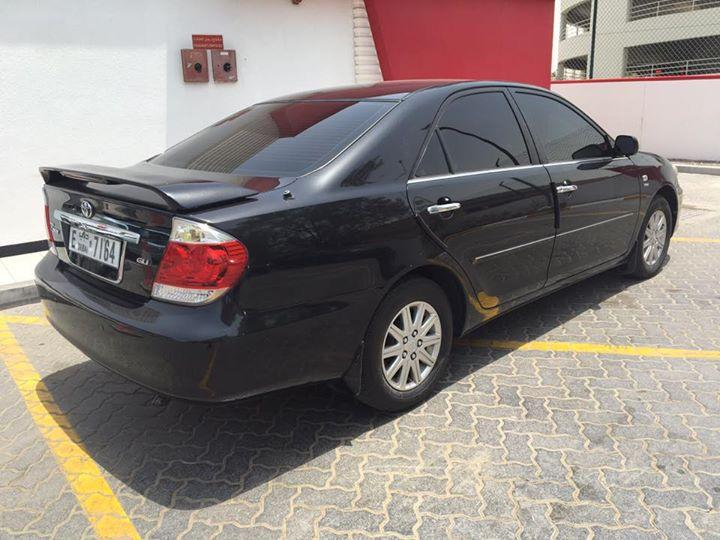 toyota camry 2006 model gli toyota used cars in uae. Black Bedroom Furniture Sets. Home Design Ideas