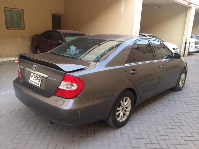2003 toyota camry model toyota used cars in uae carnity. Black Bedroom Furniture Sets. Home Design Ideas