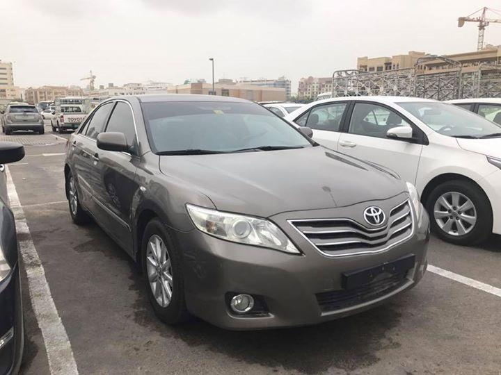 2011 golden brown toyota camry glx gcc toyota used. Black Bedroom Furniture Sets. Home Design Ideas