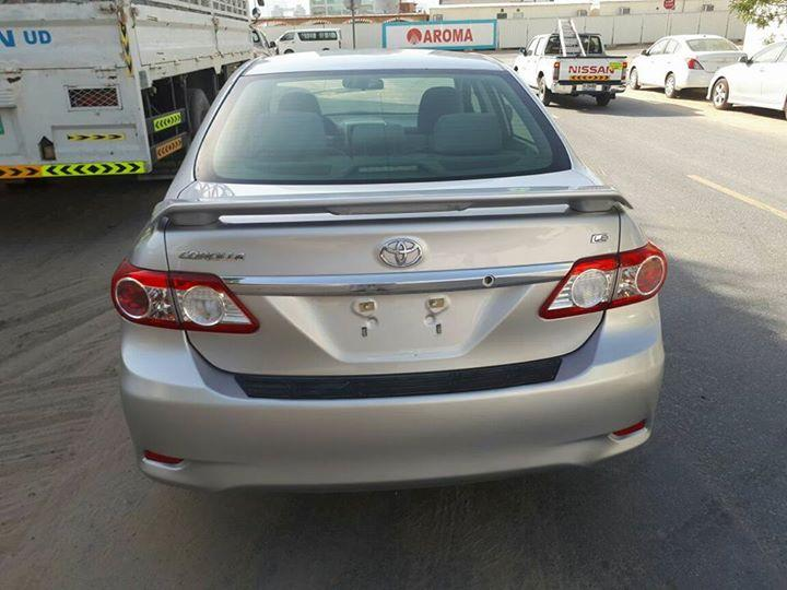 Toyota Corolla 2011 Silver  Usa Specs  Toyota used cars in UAE