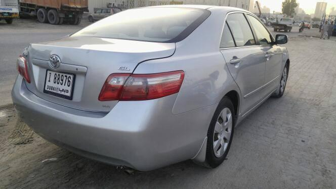 toyota camry 2 5l silver color gcc 2008 toyota used cars in uae car. Black Bedroom Furniture Sets. Home Design Ideas