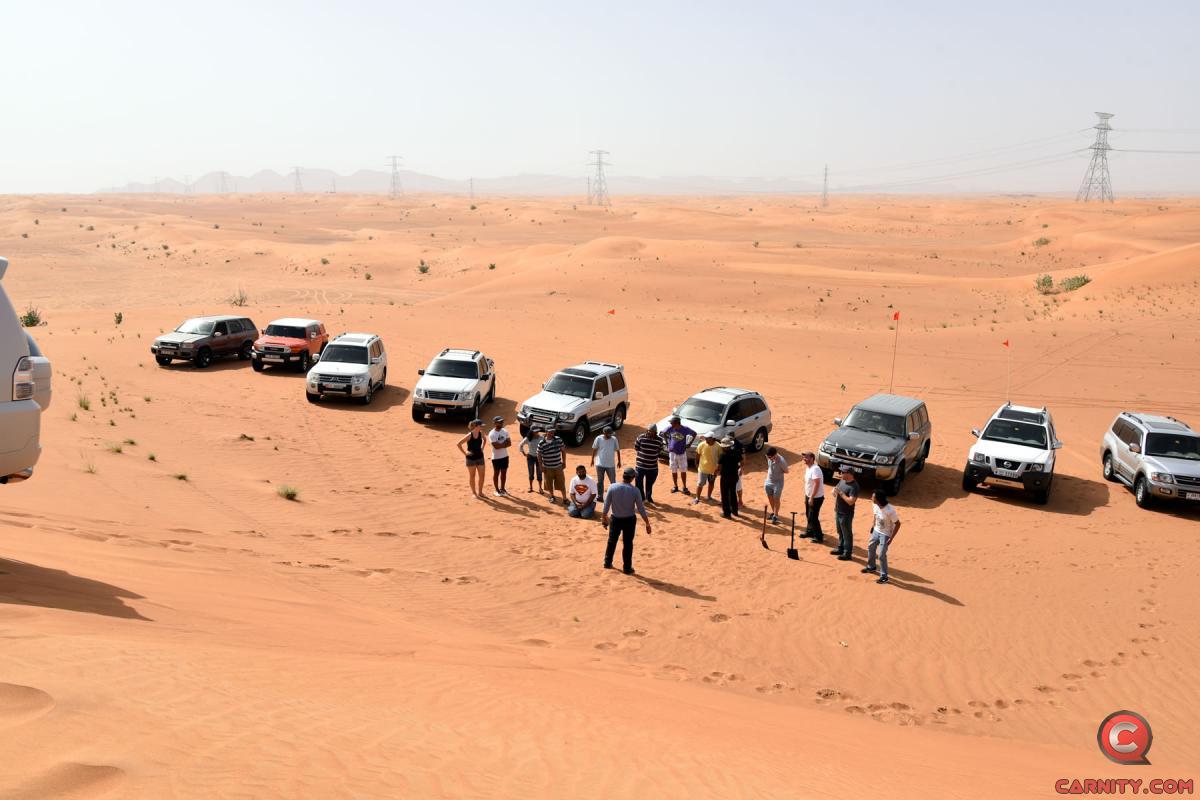 Desert Driving Training - 12 May 2017