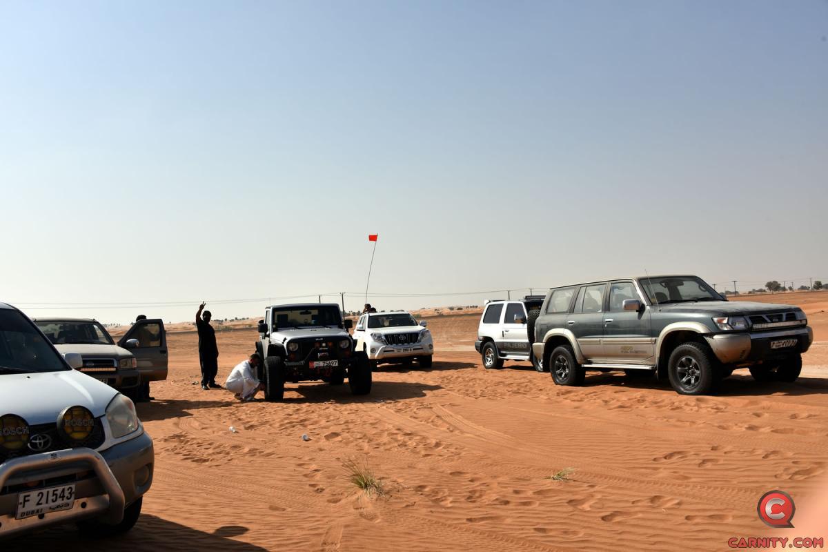 Absolute Newbie Desert Drive - 13 Oct 2017