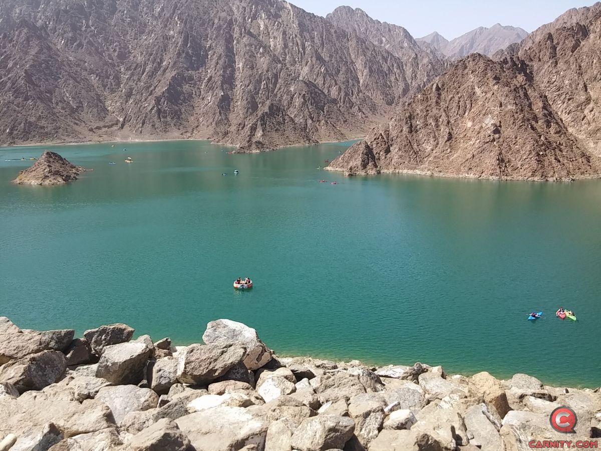 Hatta Wadi Drive + Lake Kayaking