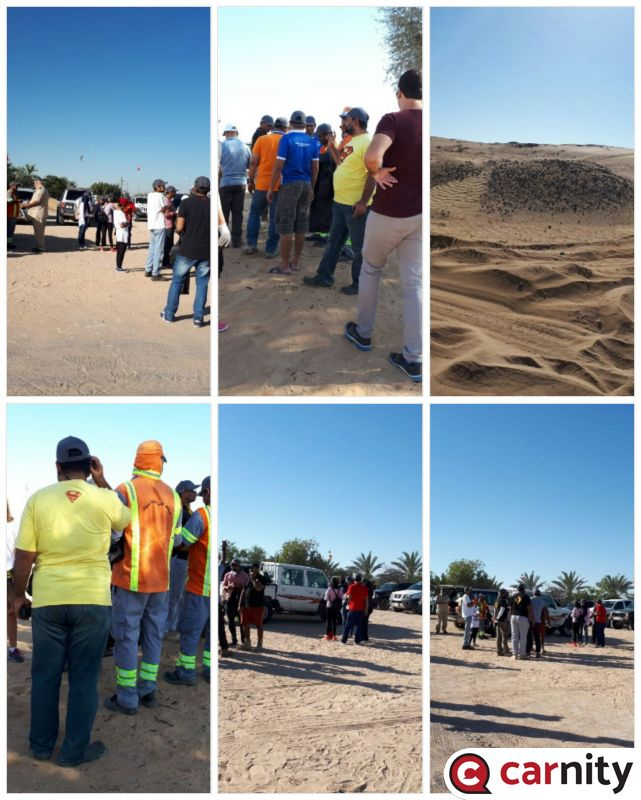 Desert Cleanup Drive - 16 March 2018
