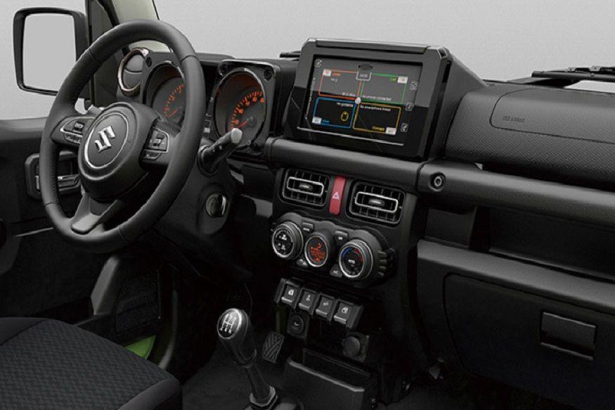 2019 Suzuki Jimny Sierra Interior.jpg