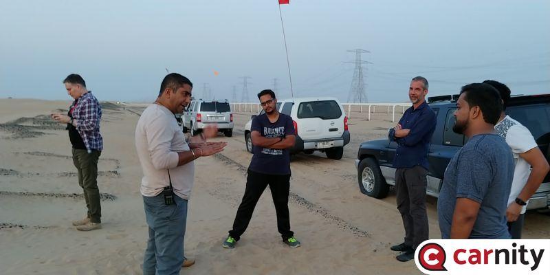 Fewbie Drive - Lisaili Desert - 27 Sep 2019